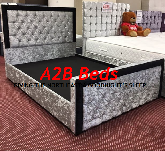 Two Tone Monte Carlo Bedframe - All Sizes